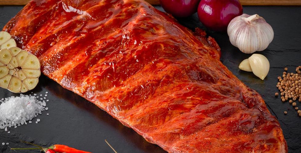 BBQ Flavoured Meaty Pork Ribs 1kg