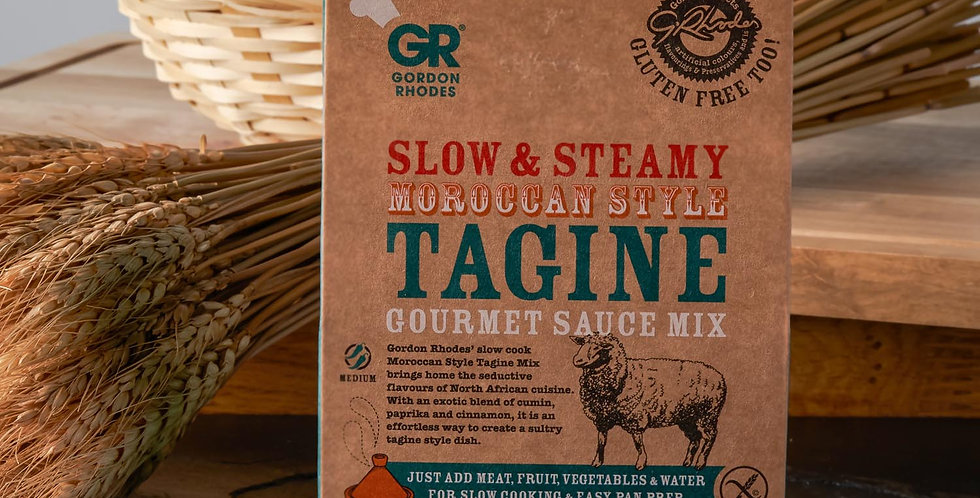 Gordon Rhodes Slow and Tasty Moroccan Style Tagine Sauce Mix