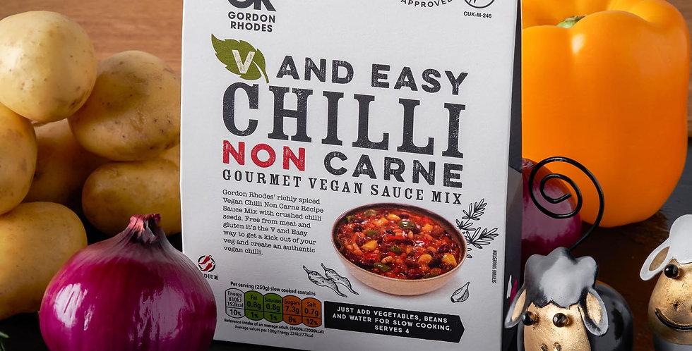 V and Easy Gordon Rhodes Chilli Non Carne