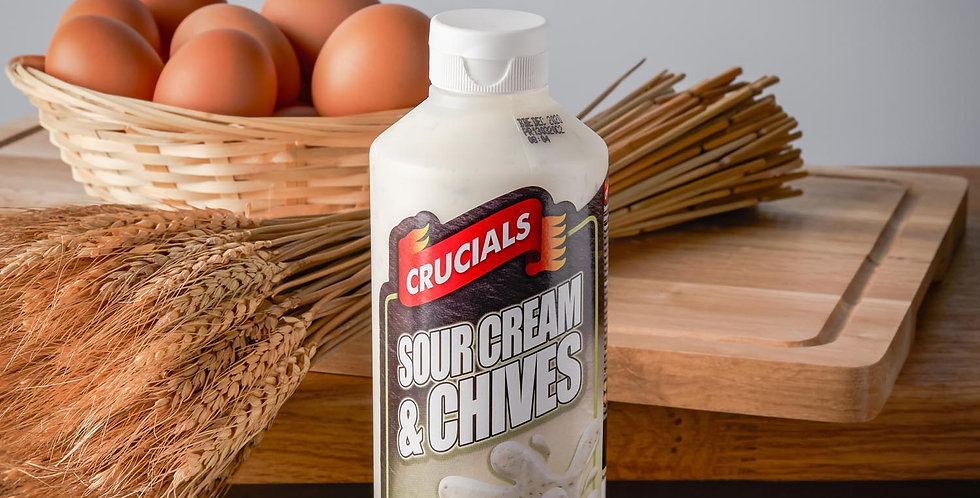 Crucials Sauce Sour Cream and Chive