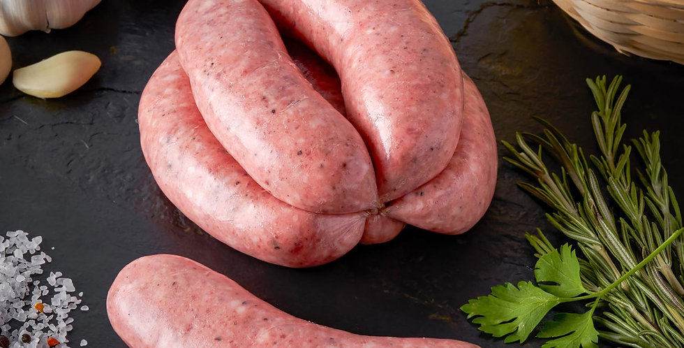 Pork Sausages (Lawrence of Leamore) 750g Lincolnshire Herb