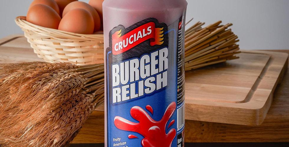 Crucials Sauce Burger Relish