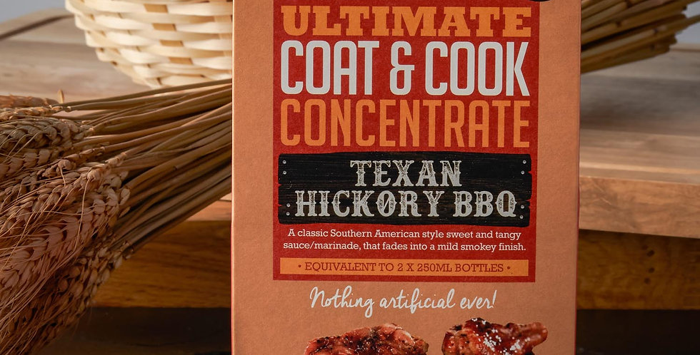 Ultimate Cook and Coat Concentrate Texan Hickory BBQ