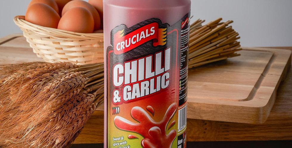 Crucials Sauce Chili and Garlic