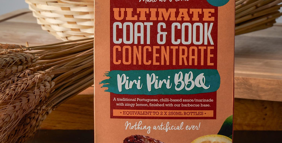 Pureety Ultimate Cook and Coat Concentrate Peri Peri BBQ