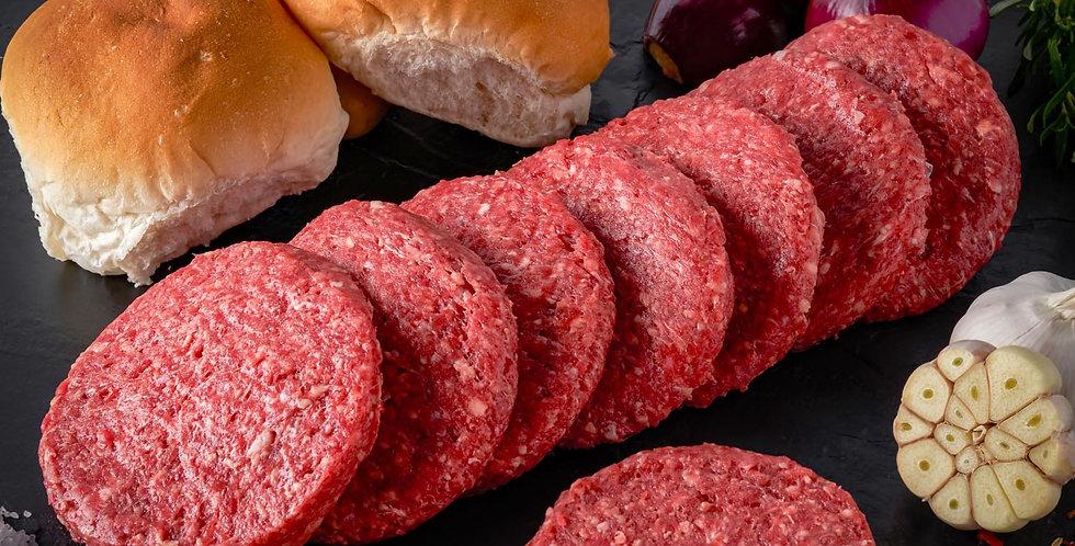 Flavoured  Beef Burgers (8 x 120g)