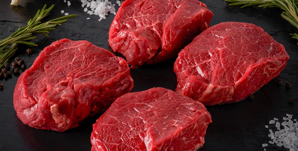 Prime Fillet  Steaks Pack of 4 x 8oz steaks