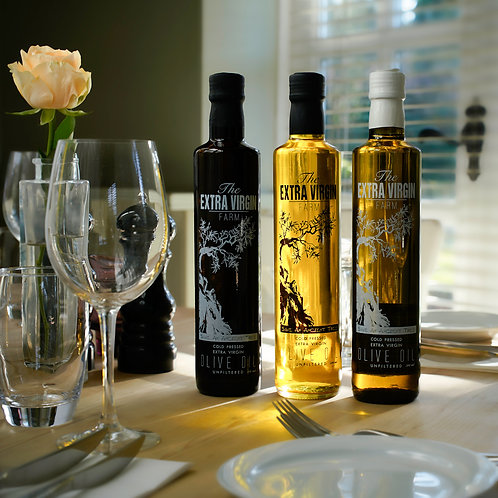 Organic Olive Oil Collection of 3