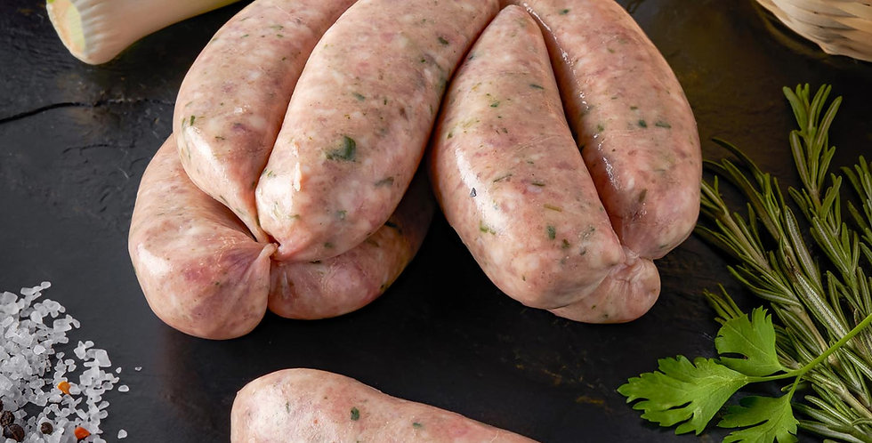 Pork Sausages (Lawrence of Leamore) 750g Pork and Leek