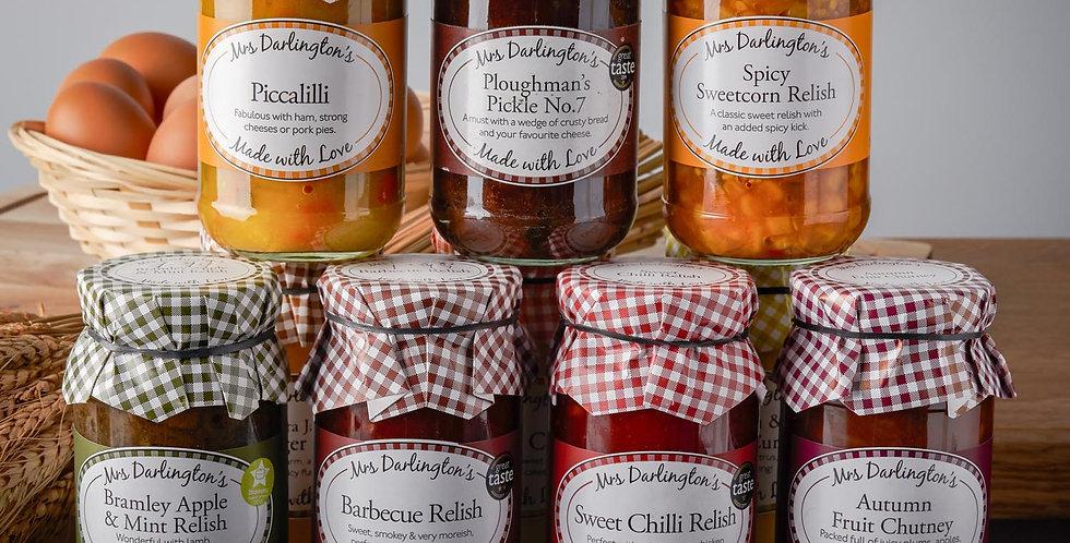 Mrs Darlington's Savory Condiments and Chutneys