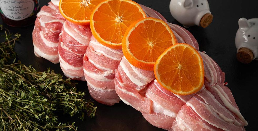 Frozen Turkey Breast Boneless wrapped in Streaky Bacon