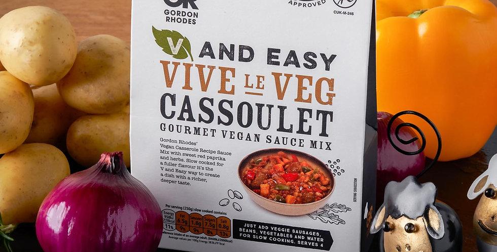 V and Easy Gordon Rhodes Viva La Veg Cassoulet