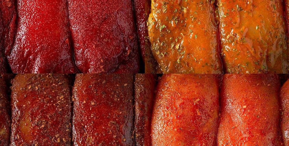 4 Flavoured Chicken Breasts