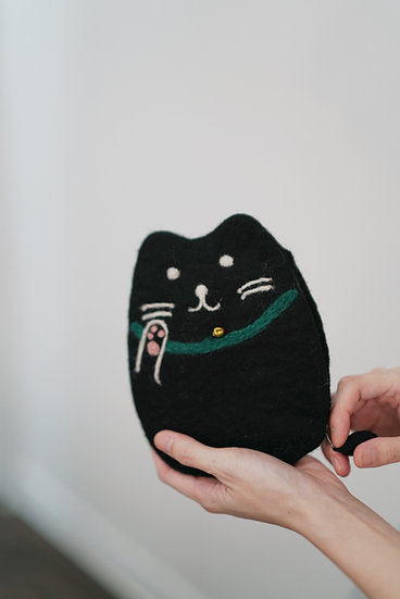 little cat bag (black) in-stock