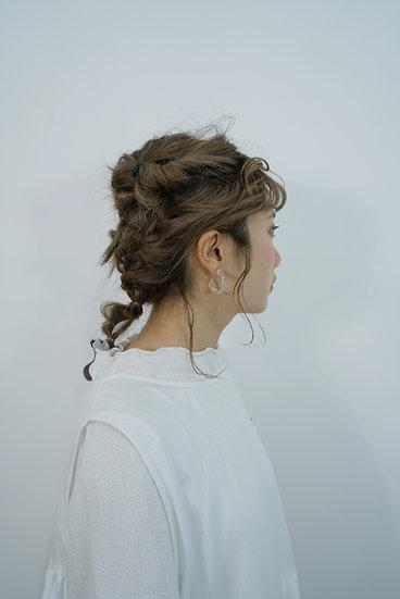 Pre-Order 扭紋耳環 (M)