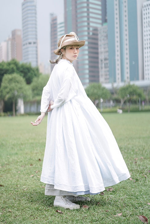 limited item see through dress - white (must buy item!!!!!!!!)
