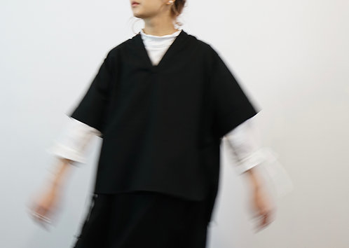 2018 old item top - checkered black