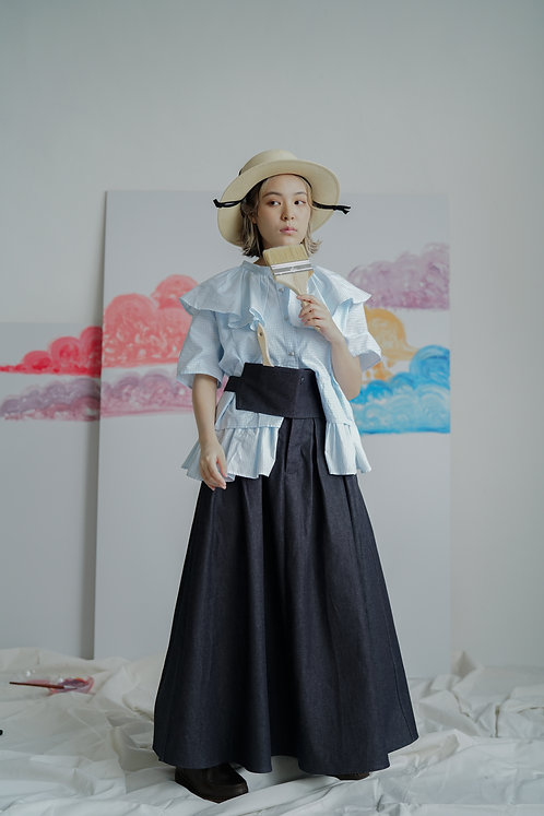 haha denim skirt - indigo !!!!! must buy