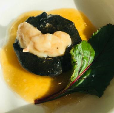 百花蝦肉釀冬菇
