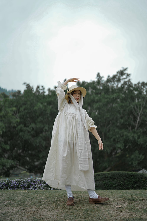 haru 2 ways dress - egger beige