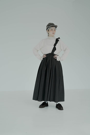 frills tuck skirts - chino checks