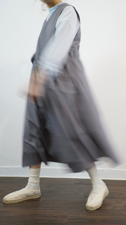 2018 old item two way dress - gray
