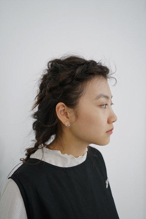 Pre-Order 雙圓耳夾 (H)