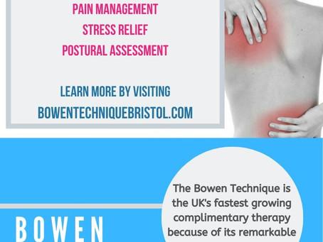 The benefits of the Bowen Technique