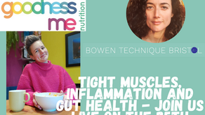 Upcoming talk with Bristol-based nutritionist Anna Mapson from Goodnessme nutrition