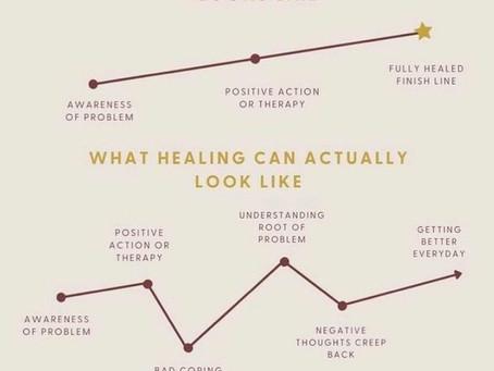 Is healing a linear process?