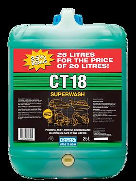 CT18 SUPERWASH25 LITR