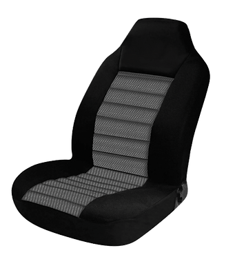 60/25 CARBON SEAT COVERS - GREY