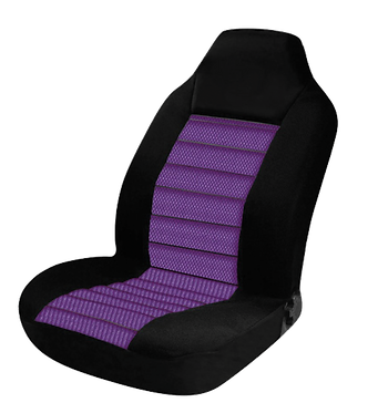 60/25 CARBON SEAT COVERS - PURPLE