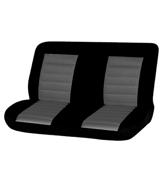 08 CARBON REAR SEAT COVER - GREY