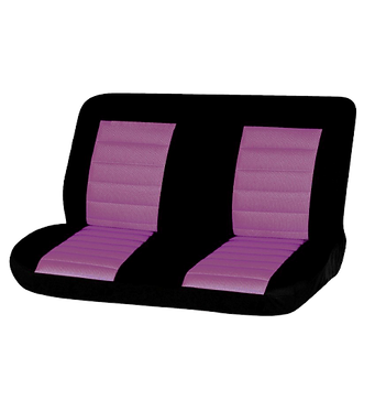 08 CARBON REAR SEAT COVER - PINK