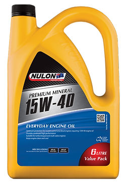 PREMIUM MINERAL 15W40  EVERYDAY ENGINE OIL 6L