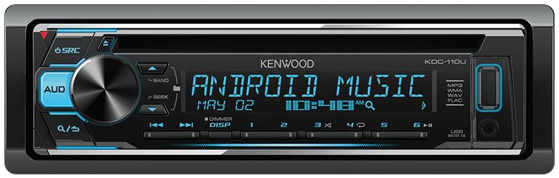 KENWOOD 2.5V CD/USB RECEIVER