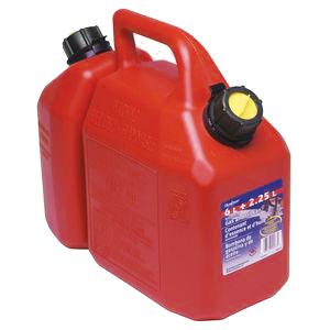 COMBI CAN6L FUEL + 2.5L OIL