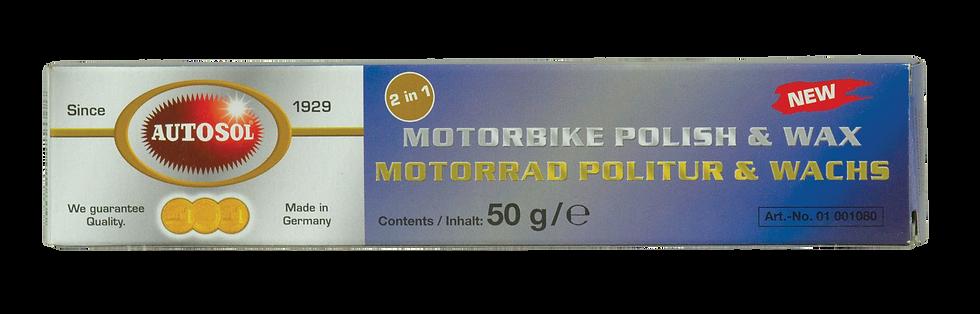 MOTORBIKE POLISH & WAX 50G