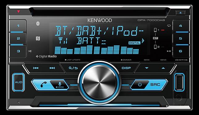 KENWOODBUILT-IN BLUETOOTH& DAB+, DUAL USB/CD RECEIVER