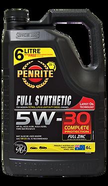 FULL SYNTHETIC 6 LITRE OIL5W30