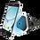 Thumbnail: MAGNETIC VENT PHONE HOLDER MOUNT