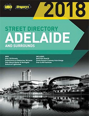 2018ADELAIDE &SURROUNDSSTREETDIRECTORY
