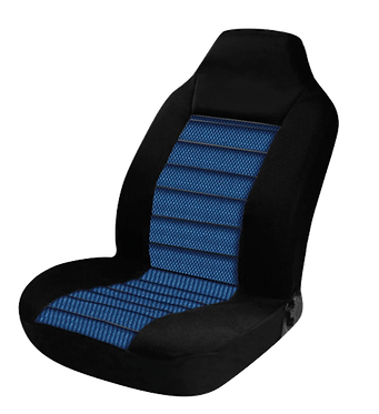 60/25 CARBON SEAT COVERS - BLUE