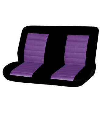 08 CARBON REAR SEAT COVER - PURPLE
