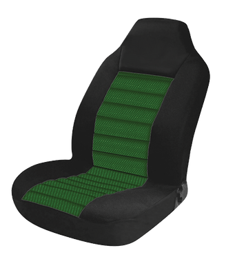 60/25 CARBON SEAT COVERS - GREEN
