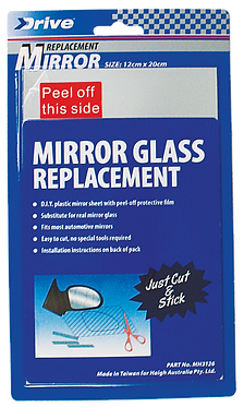 REPLACEMENT MIRROR LENS 7 x 10""