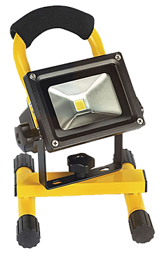 10W RECHARGEABLE PORTABLELED FLOOD WORKLIGHT