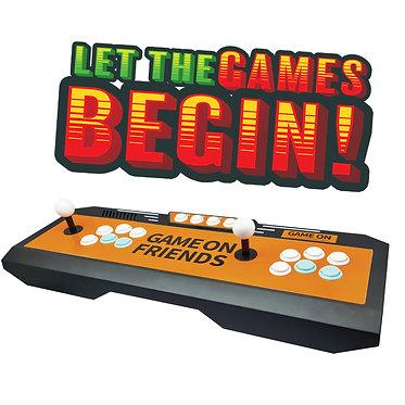 RETRO ARCADE GAMING CONSOLE 1660 GAMES