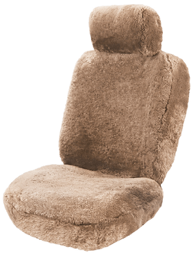 SHEEPSKIN BEIGE SEAT COVERS (PAIR)